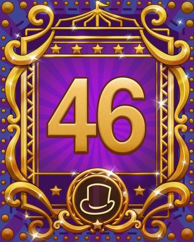 Spike's Spectacular 46 Badge - Jewel Academy