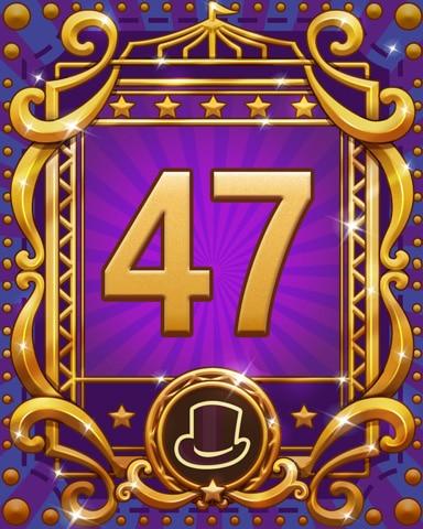 Spike's Spectacular 47 Badge - Jewel Academy