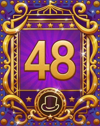 Spike's Spectacular 48 Badge - Jewel Academy
