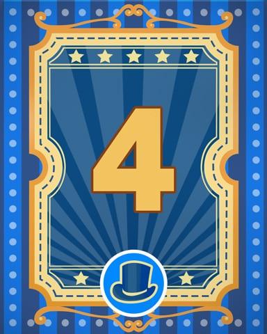 Spike's Showcase 4 Badge - Poppit! Bingo