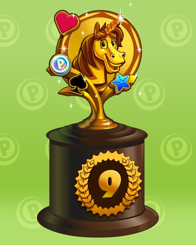 Bjorn To Run Lap 9 Badge - Pogo Daily Sudoku