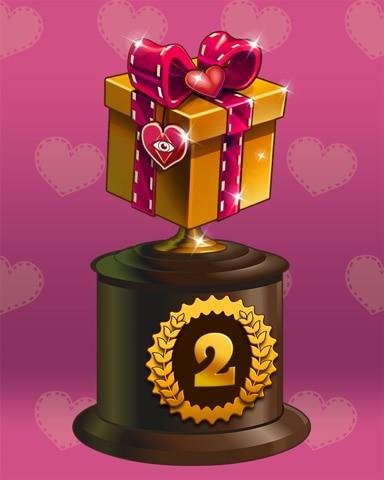 Gift Of Love Lap 2 Badge - Crossword Cove HD