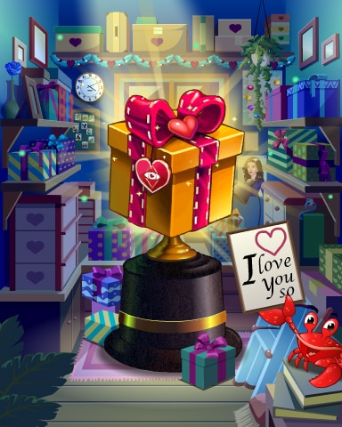 Pogo Gift Of Love Victory Badge