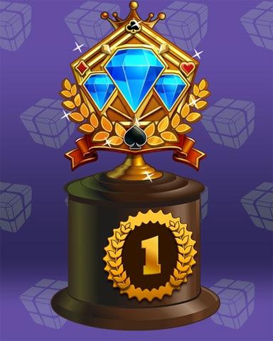 Jeweled Journey Lap 1 Badge - Bejeweled Stars