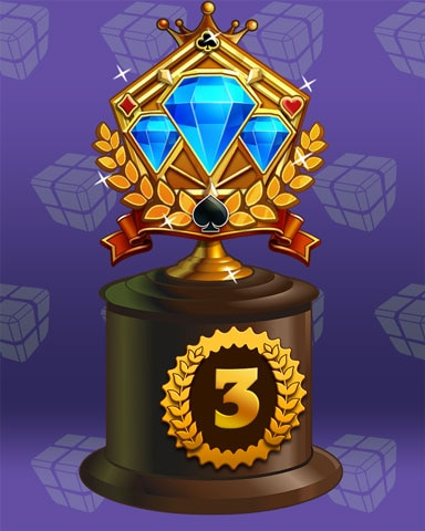 Jeweled Journey Lap 3 Badge - Peggle Blast HD