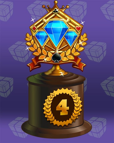 Jeweled Journey Lap 4 Badge - Spades HD