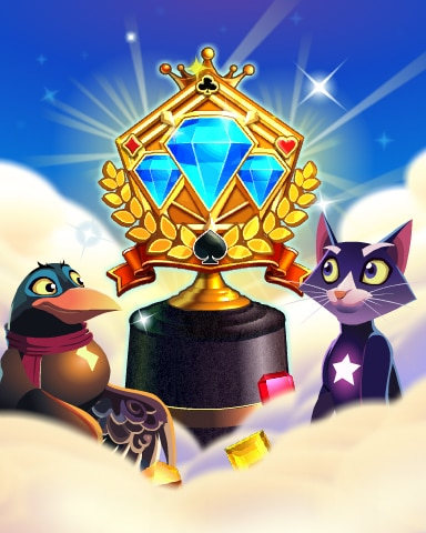 Pogo Jeweled Journey Victory Badge