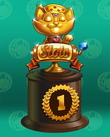 Spin Class Lap 1 Badge - Pogo™ Slots