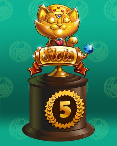 Spin Class Lap 5 Badge - Pogo Daily Sudoku