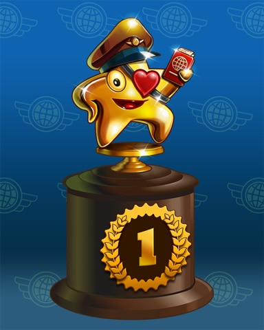 Starrgh-Fish Scamper Lap 1 Badge - First Class Solitaire HD