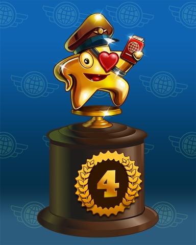 Starrgh-Fish Scamper Lap 4 Badge - Solitaire Blitz