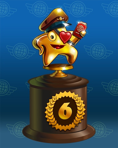 Starrgh-Fish Scamper Lap 6 Badge - World Class Solitaire HD
