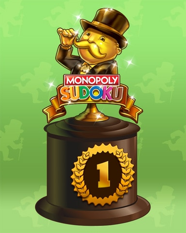 Road To Riches Lap 1 Badge - MONOPOLY Sudoku