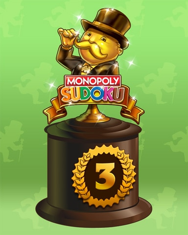 Road To Riches Lap 3 Badge - Sweet Tooth Town