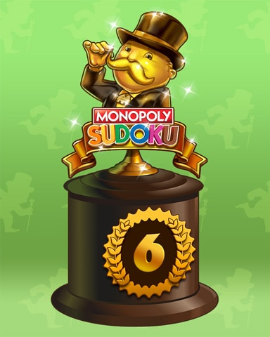 Road To Riches Lap 6 Badge - Jewel Academy