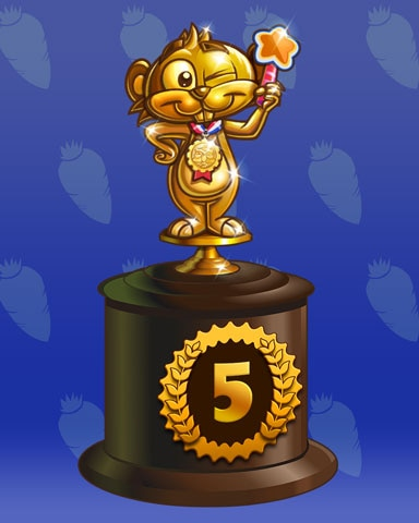 Golden Gopher Lap 5 Badge - Word Search Daily HD