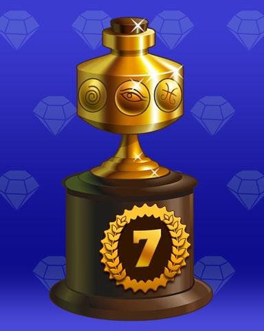 Treasure Trail Lap 7 Badge - Phlinx II