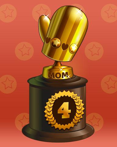 Marvelous Moms Lap 4 Badge - Lottso! Express HD