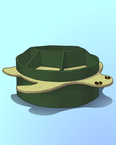 Turtle Up Badge - Quinn's Aquarium