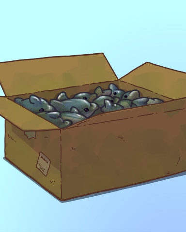 Mystery Box Badge - Quinn's Aquarium