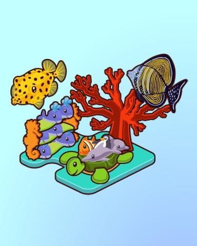 Memorable Mementos Badge - Quinn's Aquarium