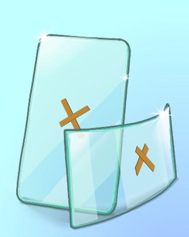 Glass Show Badge - Quinn's Aquarium