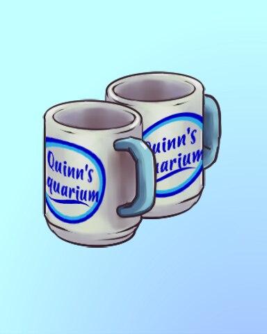 Morning Mugs Badge - Quinn's Aquarium