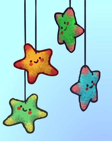 Squishy Stars Badge - Quinn's Aquarium