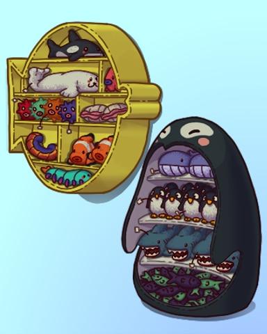 Stocking Stuff Badge - Quinn's Aquarium