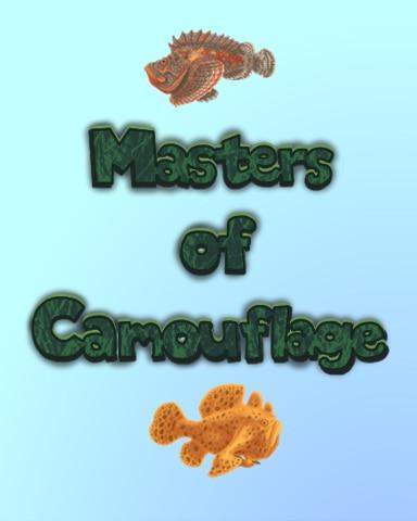 Masters Of Camouflage Badge - Quinn's Aquarium