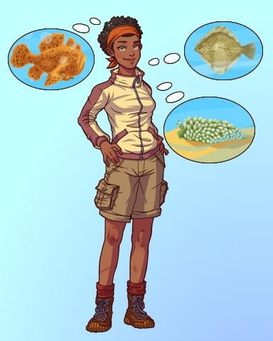 Decisions, Decisions Badge - Quinn's Aquarium
