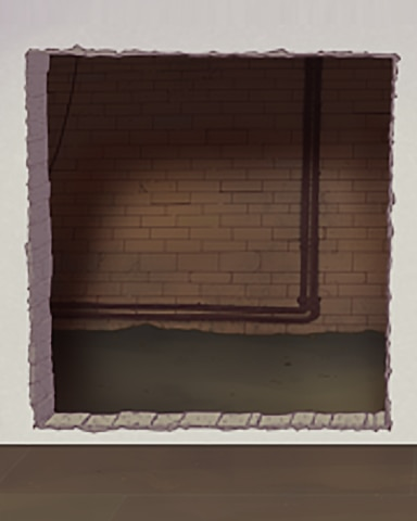 Holes In The Wall Badge - Quinn's Aquarium