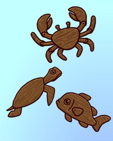 Action Figures Badge - Quinn's Aquarium