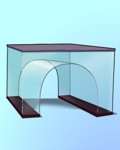 Tunnel Vision Badge - Quinn's Aquarium