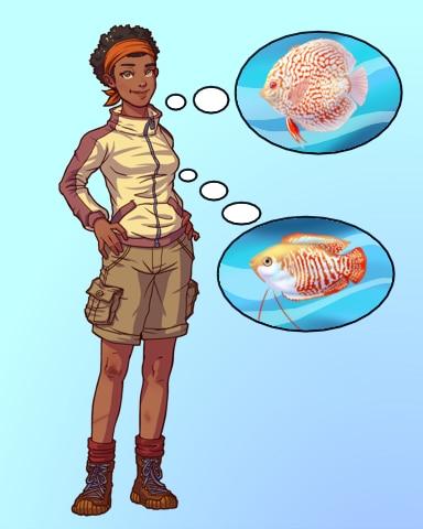 Go-To Girl Badge - Quinn's Aquarium