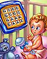 Baby Talk Badge - BOGGLE Bash