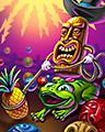 Fruit Round Up Badge - Zuma's Revenge