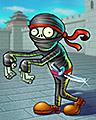 Zombie Ninja Badge - Plants Vs. Zombies