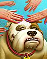 Happy Hands Badge - Spades HD