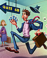 Connecting Flights Badge - World Class Solitaire HD