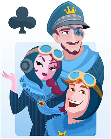 Three Aces Badge - Aces Up! HD