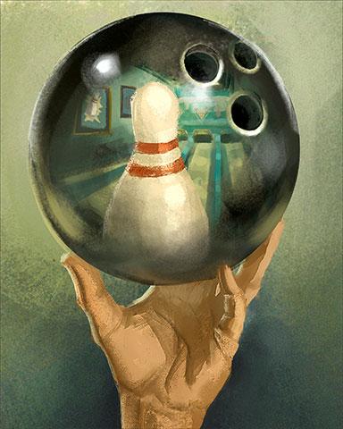Startling Reflection Badge - Pogo™ Bowl