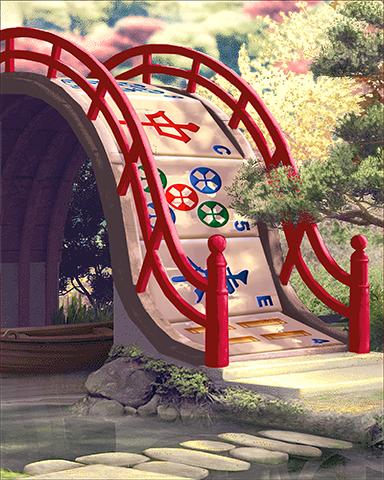 Mahjong Bridge Badge - Mahjong Sanctuary