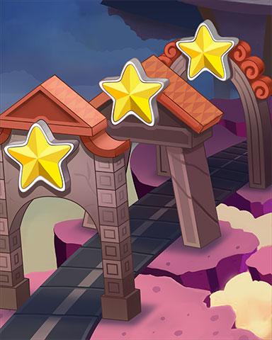 Golden Starway Badge - Jewel Academy