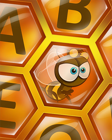 Hexagon Hideout Badge - Tumble Bees HD