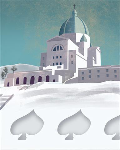 Snow Spades Badge - World Class Solitaire HD