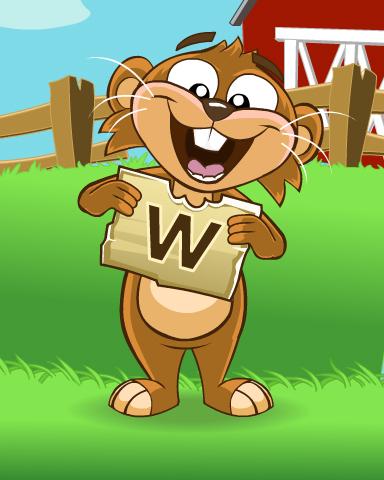 Word Sandwich Badge - Word Whomp HD
