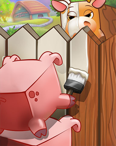 Piggy Painter Badge - Stack'em HD