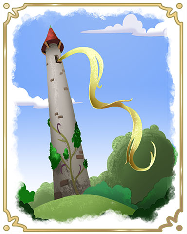 Rapunzel's Surprise Badge - StoryQuest