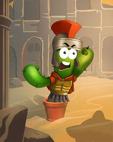 Gladiator Spike Badge - Poppit! Bingo